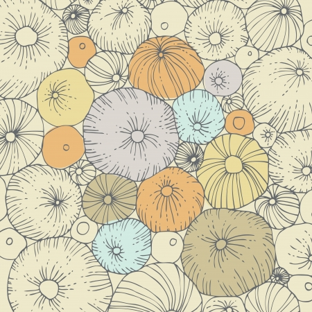 sea urchin: Abstract background with sea urchins