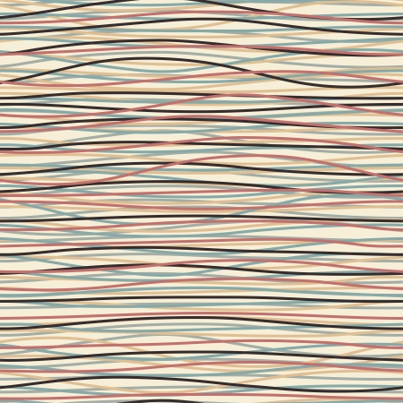 interweaving: Seamless pattern with colored threads