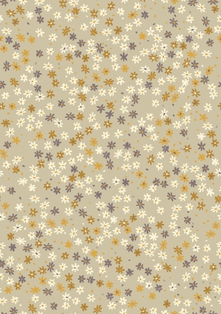 multitude: Seamless pattern with multitude of small flowers