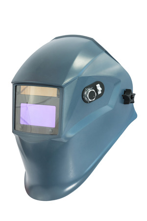 aegis: Blue protective mask for welding