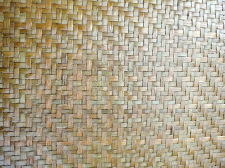 Texture of Bamboo Basketry from Thailand. photo