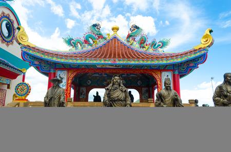pattaya: Chinese temple Pattaya Thailand
