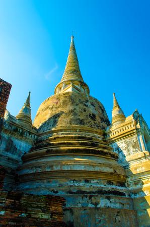 ayuttaya: Wat Phra Srisanpetch Ayuttaya Thailand Stock Photo