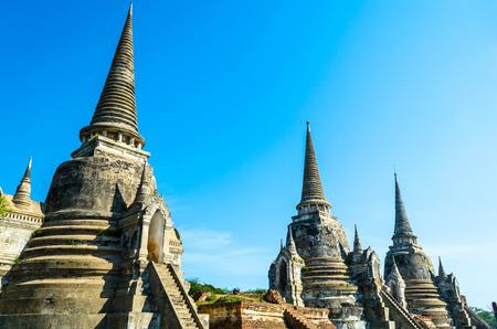 ayuttaya: Wat Phra Srisanpetch Ayuttaya Thailand Editorial