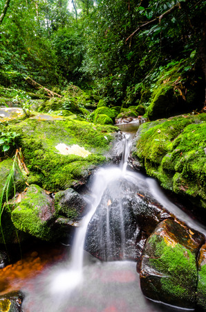 soi: Waterfall at Phu Soi Dao National Park,Phitsanulok, Thailand