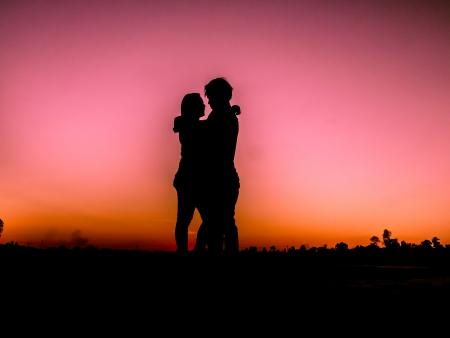 sillhouette: love sillhouette