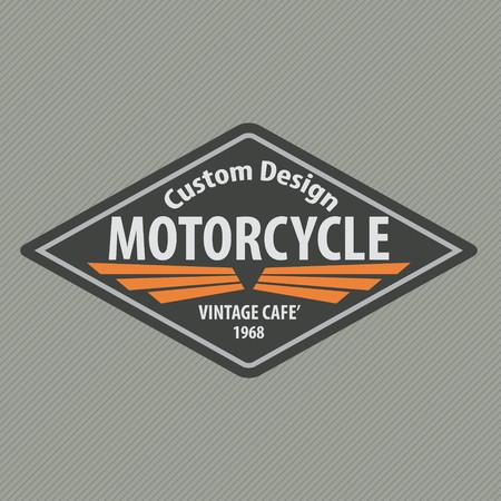 racing emblem: motor racing emblem,sticker,arms,vector illustration