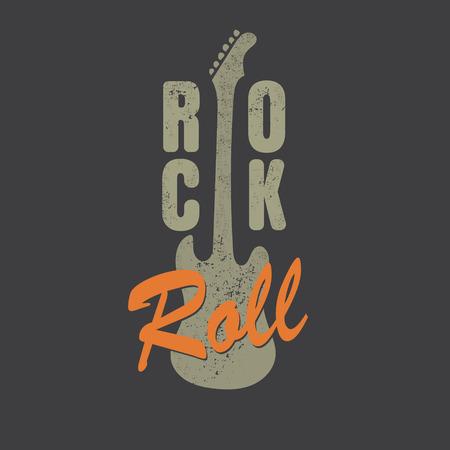 designe: vintage rock and roll typograpic for t-shirt ,tee designe,poster,flyer,vector illustration