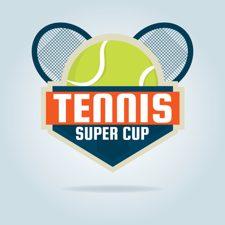 tennis  ,championship,tournament,decal,vector illustration
