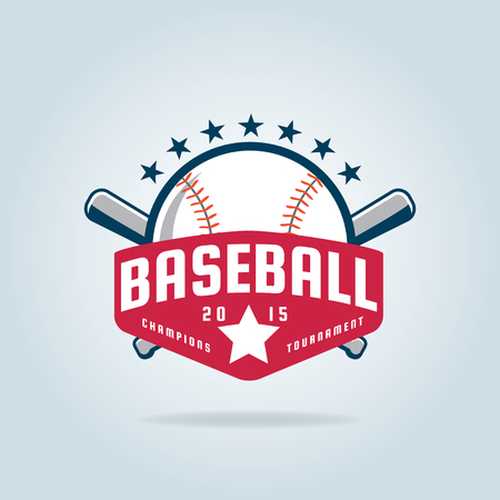Baseball badge,sport  ,team identity,vector illustration