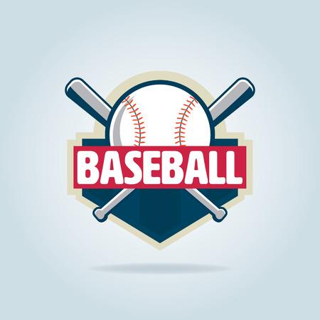 Baseball badge,sport  ,team identity,vector illustration