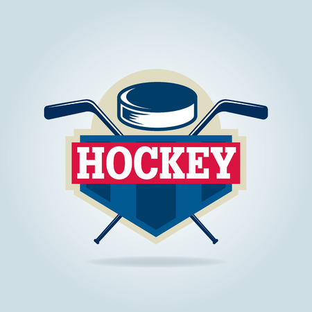 hockey  ,sport identity,team,tournament. Illustration
