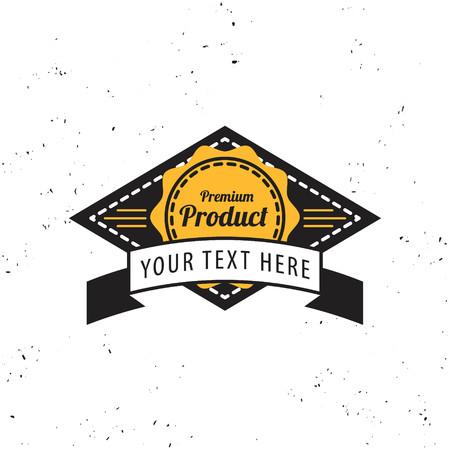 vintage badge template , label,vector illustration Illustration