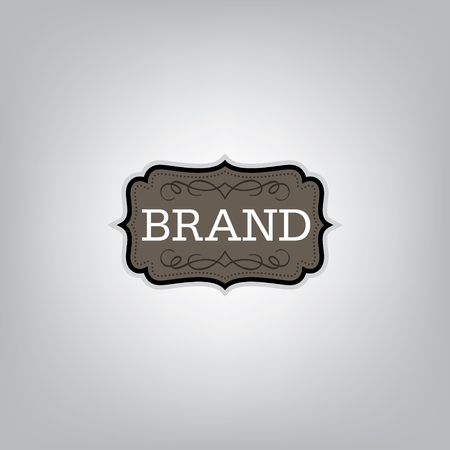 brand identity: Vintage badge design template l Brand identity.