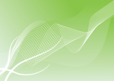 abstract background with with white and green colours and lines Illustration