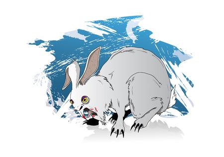 bunny rabbit: conejito mortal es el ejemplo de un mal experimento