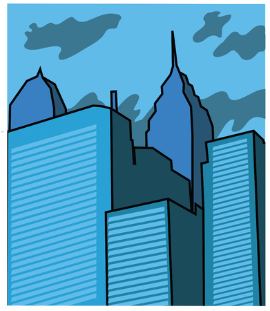 buildings Stock Vector - 7796314