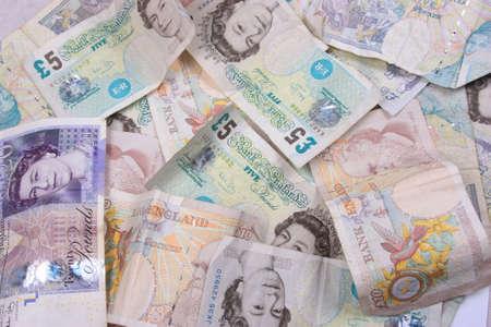 bundle of cash Stock Photo