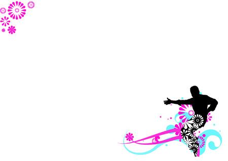strip dance: flower dancer