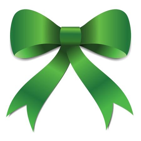 cs: St Patricks green bow illustration for the irish celebration  Illustration Eps CS  Illustration