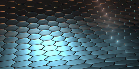Dragon scale pattern background Stock Photo