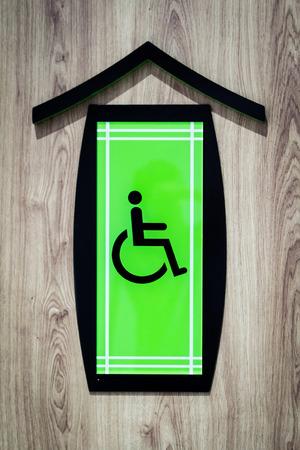 female sex: Handicap Sign