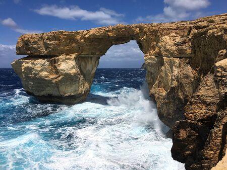 Azure window Gozo Malta.
