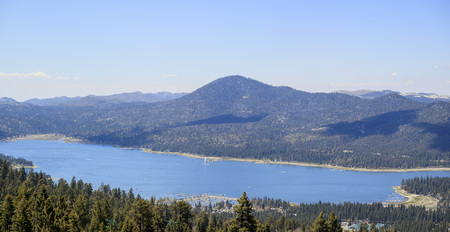 bear lake: Great Big bear lake near Los Angeles