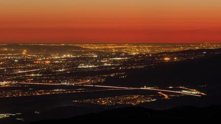 Bernardino: San bernardino from the top, sunset
