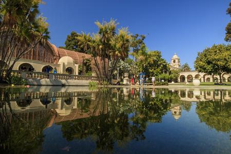 balboa: Beautiful Balboa Park at Pasadena in afternoon