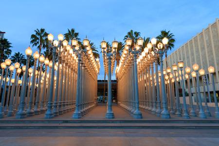Urban light, Los Angeles