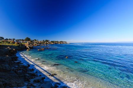 17: Beautiful 17 mile coastline Stock Photo