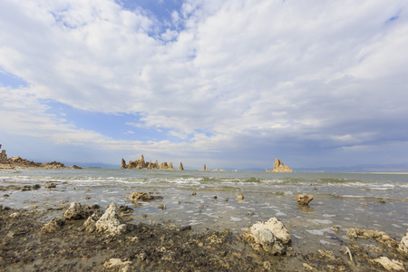 mono: Speical scene - Tofu, Mono Lake with blue sky