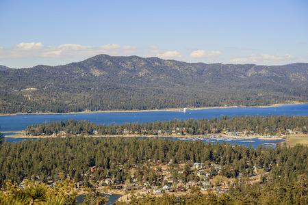 bear lake: Great Big bear lake near Los Angeles