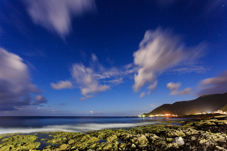 Beautiful nature landscapes at Orchid Island, Taitung, Taiwan 스톡 콘텐츠