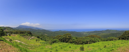 country side: Panorama view of Taitung country side, morning time