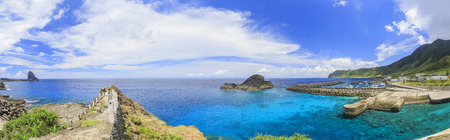 Beautiful nature landscapes at Orchid Island, Taitung, Taiwan 免版税图像 - 46556847