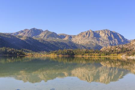 Beautiful fall color at June Lake Loop, California