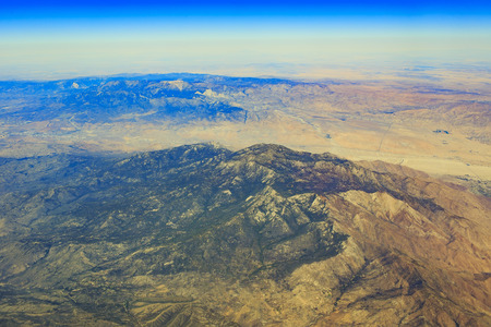 palm springs: Aerial View of Mt. San Jacinto at Palm Springs