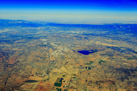 recreation area: Aerial View of Lake Perris State Recreation Area at Edgemont