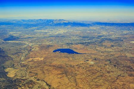 riverside: Aerial view of Lake Mathews at Riverside