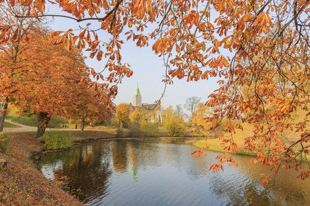 historical reflections: Traveling in the famous Copenhagen around Autumn season