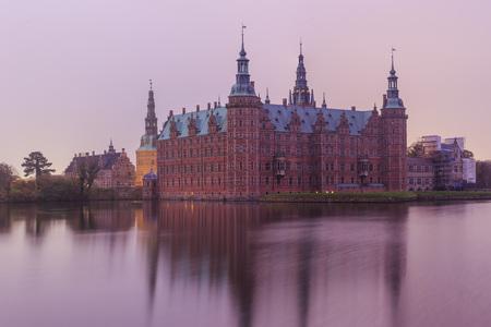 historical reflections: Traveling in the famous Frederiksborg Castle, Copenhagen around Autumn season