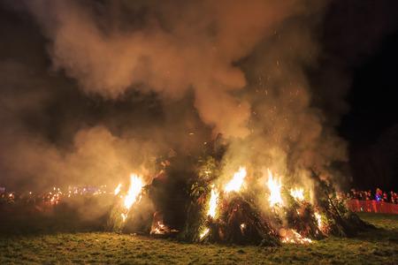 bon: The traditional event - bon Fire at United Kingdom