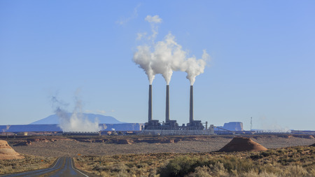 navajo: Navajo Generating Station in Page, Arizona