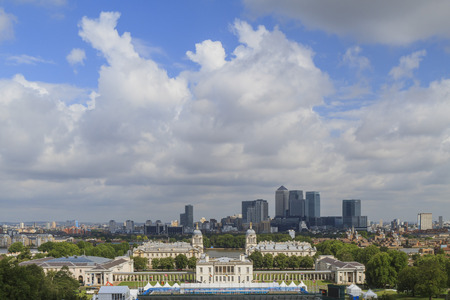 naval: The Old Royal Naval College in Greenwich area near London, United Kingdom