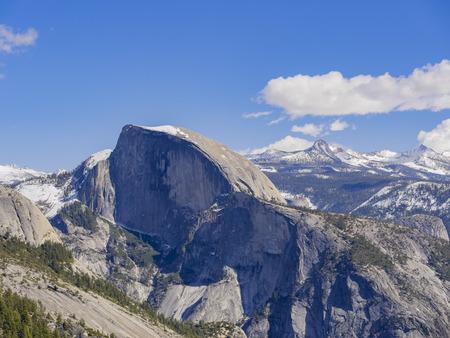 half dome: The famous and beautiful landscape - Half Dome at Yosemite