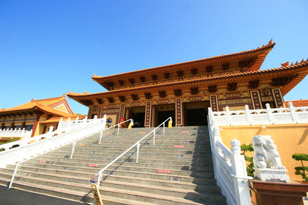 humanistic: Hsi Lai Temple at Los Angeles, California
