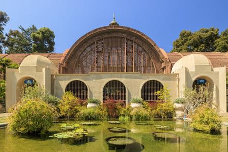 balboa: San Diego Balboa Park Botanical Building at San Diego, California