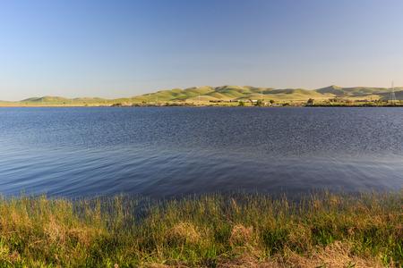 recreation area: San Luis Reservoir State Recreation Area, California Stock Photo